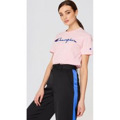 T-shirty damskie: Champion T-shirt Logo – Pink