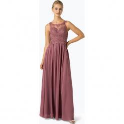 Laona - Damska sukienka wieczorowa, różowy. Czerwone sukienki balowe Laona, l, w koronkowe wzory, z koronki. Za 749,95 zł.
