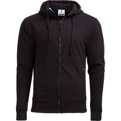 Bluza męska BLM600 - CZARNY - Outhorn. Czarne bluzy męskie rozpinane Outhorn, na jesień, m, z dzianiny. W wyprzedaży za 83,99 zł.