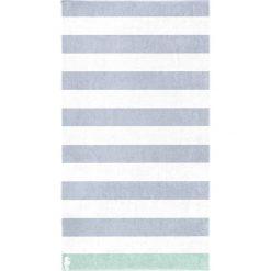 """Kąpielówki męskie: Ręcznik plażowy """"Albatros"""" w kolorze niebiesko-białym"""