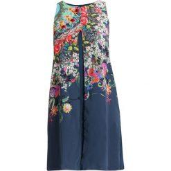 Desigual VEST CANDICE Sukienka letnia blue. Niebieskie sukienki letnie marki Desigual, z materiału. Za 379,00 zł.