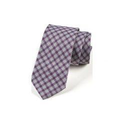 Krawat męski  COMILAS. Fioletowe krawaty męskie HisOutfit, z materiału. Za 129,00 zł.