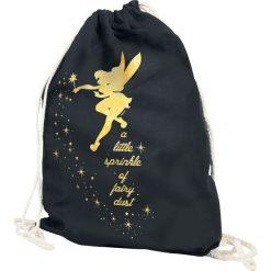 Piotruś Pan Tinker Bell - Fairy Dust Torba treningowa czarny. Czarne torebki klasyczne damskie Piotruś Pan. Za 54,90 zł.