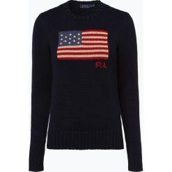 Polo Ralph Lauren - Sweter damski, niebieski. Niebieskie swetry klasyczne damskie Polo Ralph Lauren, s, z bawełny, polo. Za 649,95 zł.