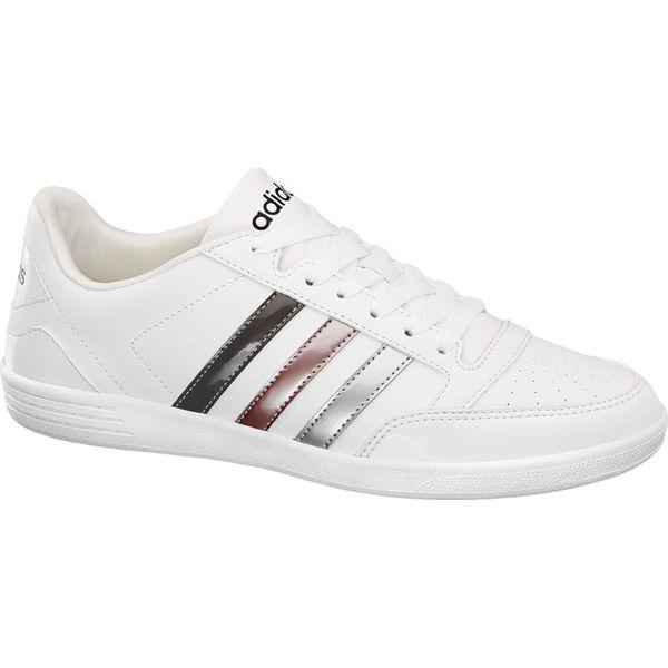 c4a14c99 sneakersy damskie adidas VL Hoops Low adidas białe - Białe buty ...