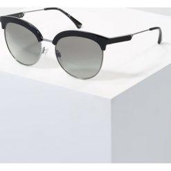 Emporio Armani Okulary przeciwsłoneczne black. Czarne okulary przeciwsłoneczne damskie aviatory Emporio Armani. Za 689,00 zł.