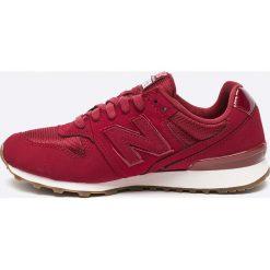 New Balance - Buty WR996SKH. Czerwone buty sportowe damskie marki New Balance, z materiału. W wyprzedaży za 269,90 zł.