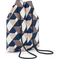 Plecak ze wzorem - (S)33 x (W)37 x (G)10 cm. Szare plecaki damskie Pijama, z materiału. W wyprzedaży za 149,95 zł.