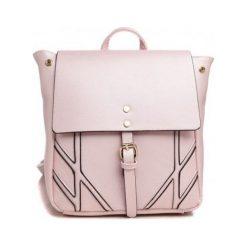 Plecaki damskie: Bessie London Plecak Damski Różowy