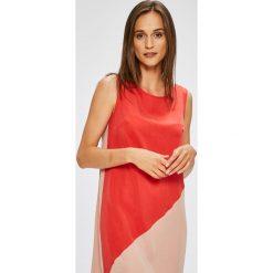 Trendyol - Sukienka. Szare sukienki asymetryczne marki Trendyol, na co dzień, z elastanu, casualowe, midi. W wyprzedaży za 139,90 zł.