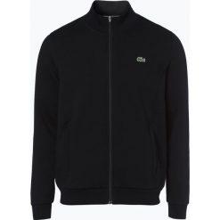 Lacoste - Męska bluza rozpinana, czarny. Czarne bluzy męskie rozpinane Lacoste, l, z aplikacjami. Za 449,95 zł.