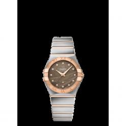 ZEGAREK OMEGA Constellation 123.20.27.60.63.003. Szare zegarki damskie marki Reserved, srebrne. Za 17500,00 zł.