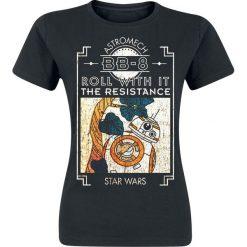 Bluzki asymetryczne: Star Wars Episode 8 - The Last Jedi - BB-8 Koszulka damska czarny