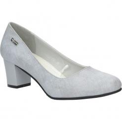 Szare czółenka na niskim obcasie Sergio Leone PB228-03X. Czarne buty ślubne damskie marki Sergio Leone. Za 88,99 zł.