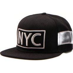 Czapka męska snapback czarna (hx0165). Czarne czapki z daszkiem męskie marki Dstreet, z haftami, eleganckie. Za 69,99 zł.
