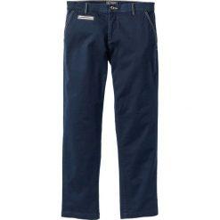 Chinosy męskie: Spodnie chino ze stretchem Regular Fit bonprix ciemnoniebieski