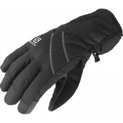 Salomon Rękawiczki Narciarskie Icon Gtx W Black S. Czarne rękawiczki damskie Salomon, na zimę, z gore-texu. W wyprzedaży za 209,00 zł.
