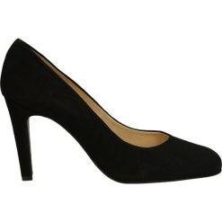 Czółenka - 9043101 NERO. Czarne buty ślubne damskie Venezia, ze skóry. Za 169,00 zł.