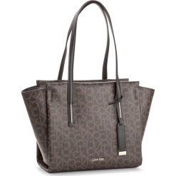 Shopper bag damskie: Torebka CALVIN KLEIN BLACK LABEL – Frame Medium Shopper K60K604171 225