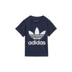 T-shirty z krótkim rękawem Dziecko  adidas  Koszulka Trefoil. Niebieskie bluzki dziewczęce z krótkim rękawem Adidas. Za 79,95 zł.