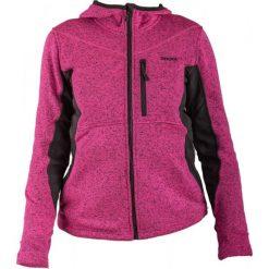 Brugi Bluza damska 2AIL-RJY Fuxia Nero r. S. Czarne bluzy sportowe damskie marki DOMYOS, z elastanu. Za 99,95 zł.