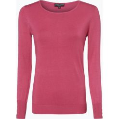 Marie Lund - Sweter damski, różowy. Czerwone swetry klasyczne damskie Marie Lund, xl, z dzianiny, z klasycznym kołnierzykiem. Za 99,95 zł.
