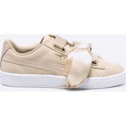 Puma - Buty Suede Heart Safari Wn's. Szare buty sportowe damskie Puma, z gumy. W wyprzedaży za 239,90 zł.