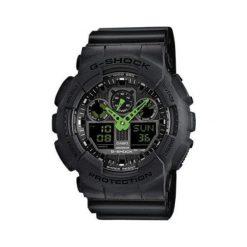 Zegarek Casio Męski GA-100C-1A3ER G-Shock czarny. Czarne zegarki męskie CASIO. Za 406,99 zł.