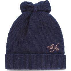 Czapka EMPORIO ARMANI - 394327 8A504 06935 Navy Blue. Szare czapki zimowe damskie marki Emporio Armani, l, z nadrukiem, z bawełny, z okrągłym kołnierzem. Za 319,00 zł.