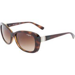VOGUE Eyewear Okulary przeciwsłoneczne brown. Brązowe okulary przeciwsłoneczne damskie aviatory VOGUE Eyewear. Za 549,00 zł.