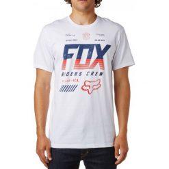 T-shirty męskie: FOX T-Shirt Męski Escaped Ss Tee S Biały