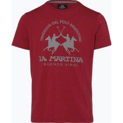 T-shirty męskie: La Martina - T-shirt męski, czerwony