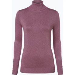 Marie Lund - Sweter damski, lila. Niebieskie swetry klasyczne damskie marki Marie Lund, l, z haftami. Za 149,95 zł.