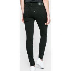 Levi's - Jeansy 710. Brązowe jeansy damskie rurki marki Levi's®. W wyprzedaży za 249,90 zł.