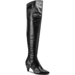 Muszkieterki ZINDA - 3756  Softy Negro. Szare buty zimowe damskie marki Born2be, z okrągłym noskiem, na niskim obcasie, na słupku. W wyprzedaży za 649,00 zł.