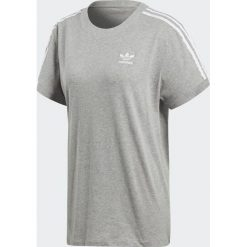 Adidas Koszulka damska Originals 3 Stripes szara r. 40 (CY4982). Szare bluzki damskie Adidas. Za 107,72 zł.