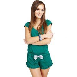 Piżamy damskie: Piżama w kolorze zielonym