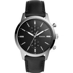 Zegarek FOSSIL - Townsman FS5396 Black/Silver. Różowe zegarki męskie marki Fossil, szklane. W wyprzedaży za 449,00 zł.