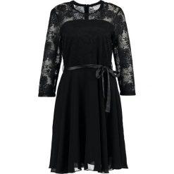 Sukienki hiszpanki: Kaffe VANESSA  Sukienka koktajlowa black deep