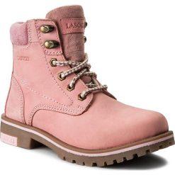 Buty zimowe damskie: Trapery LASOCKI – WI21-DOG-01 Różowy