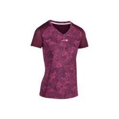 T-Shirt tenisowy Soft 500 damski. Fioletowe t-shirty damskie ARTENGO, z meshu. W wyprzedaży za 29,99 zł.