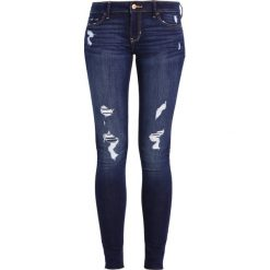 Hollister Co. Jeans Skinny Fit dark. Niebieskie boyfriendy damskie Hollister Co. Za 249,00 zł.