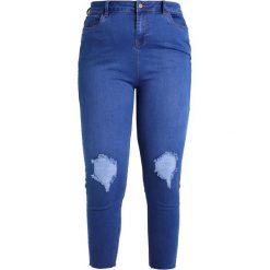 Boyfriendy damskie: New Look Curves SUPER SOFT COCO Jeans Skinny Fit mid blue