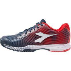 Diadora S.COMPETITION 4 AG        Obuwie multicourt dark blue/red capital. Czarne buty do tenisa męskie marki Asics. Za 419,00 zł.