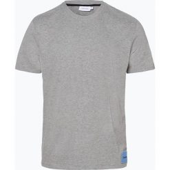 Calvin Klein - T-shirt męski, szary. Szare t-shirty męskie marki Calvin Klein, m, z aplikacjami, z bawełny. Za 229,95 zł.