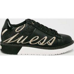 Guess Jeans - Buty Debora. Czarne buty sportowe damskie Guess Jeans, z jeansu. Za 499,90 zł.