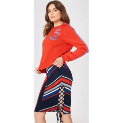 Bluzy rozpinane damskie: Tommy Hilfiger Bluza Gigi Hadid Team LS - Red