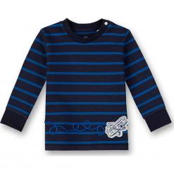 Koszulka w kolorze niebieskim. Białe t-shirty chłopięce z długim rękawem marki UP ALL NIGHT, z bawełny. W wyprzedaży za 42,95 zł.