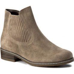Botki GABOR - 72.722.32 Ratto. Brązowe buty zimowe damskie Gabor, z materiału. W wyprzedaży za 299,00 zł.