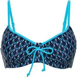Bikini: Biustonosz bikini na fiszbinach bonprix niebiesko-biały
